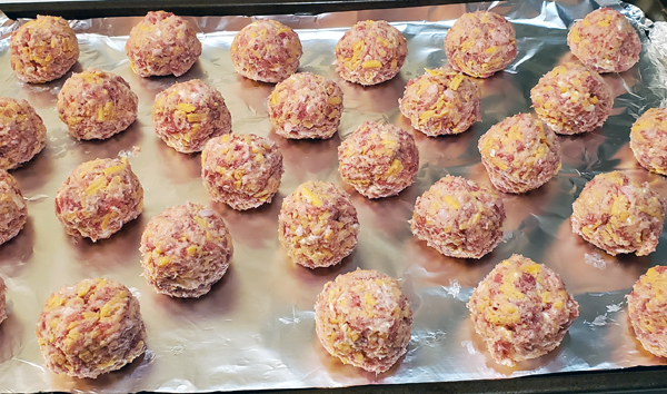 Low Carb Sausage Balls Recipe