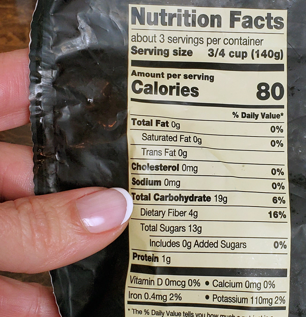 Blueberries Nutrition Facts - Keto Kitchen MyFitnessPal Tips
