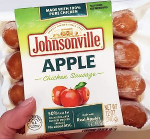 Johnsonville Apple Chicken Sausage - Low Carb Foods