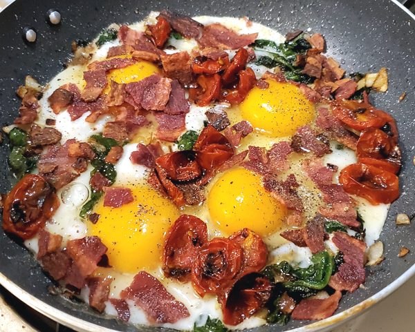 Keto One Skillet Brunch Recipe