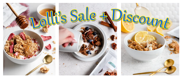 Lolli's Cookie Clusters Sale