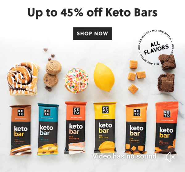 Perfect Keto Bars Deal