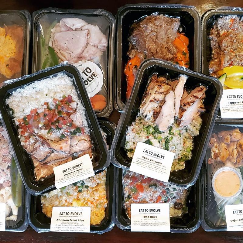 Eat To Evolve Keto Meal Plan Box