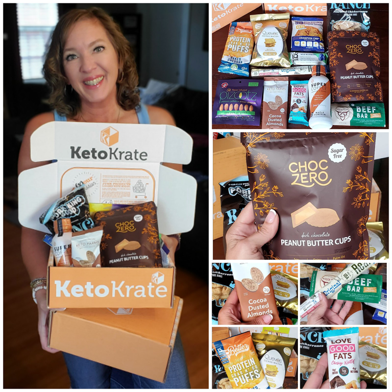 Keto Krate Unboxing Review and Discount Code